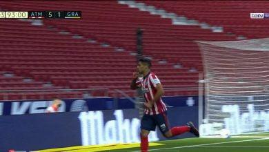 صورة اهداف مباراة اتليتكو مدريد وغرناطة 6-1 الدوري الاسباني
