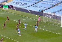 صورة هدف ليستر سيتي الخامس في مرمى مانشستر سيتي 5-2 الدوري الانجليزي