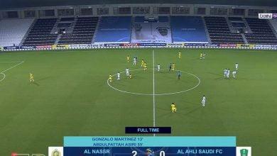 اهداف مباراة النصر والاهلي 2-0 دوري ابطال اسيا