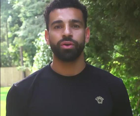 صورة فيديو – محمد صلاح يشارك في حملة لدعم الأطفال اللاجئين