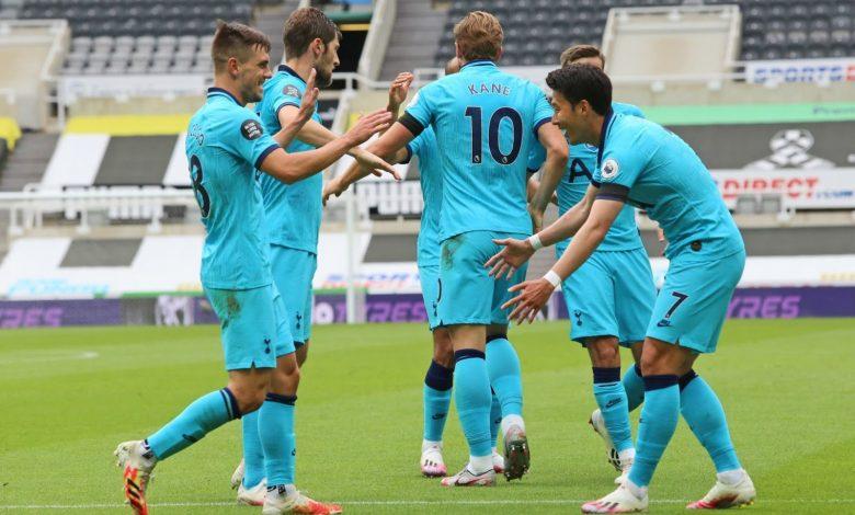 صورة تشكيل نادي توتنهام هوتسبير المتوقع في مواجهة نيوكاسل يونايتد بالدوري الإنجليزي