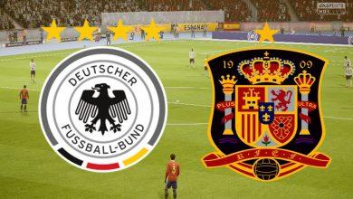 صورة موعد مباراة ألمانيا وإسبانيا في دوري الأمم الأوروبية والقنوات الناقلة