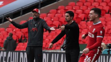 صورة التشكيل المتوقع لقمة ليفربول وأرسنال في كأس كاراباو