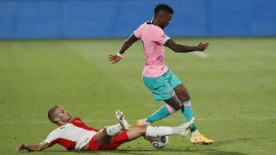 صورة رسمياً.. سيميدو يعلن رحيله عن برشلونة
