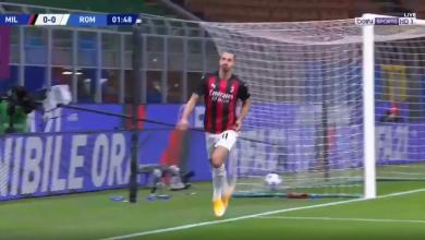 اهداف مباراة ميلان وروما 3-3 الدوري الايطالي