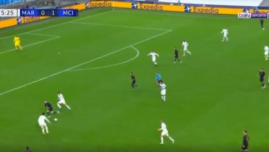 اهداف مانشستر سيتي ومارسيليا 3-0 دوري ابطال اوروبا
