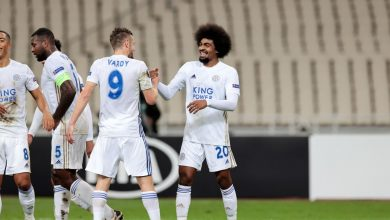 صورة اهداف مباراة ليستر سيتي وآيك أثينا 2-1 الدوري الاوروبي