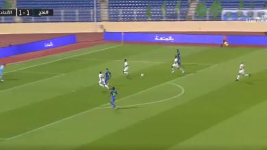 اهداف مباراة الاتحاد والفتح 2-2 الدوري السعودي