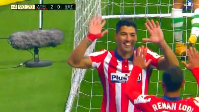 هدف سواريز في مرمى ريال بيتيس 2-0 الدوري الاسباني