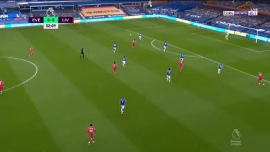 هدف ساديو ماني في مرمى ايفرتون 1-0 تعليق حفيظ دراجي