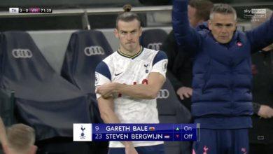 صورة جاريث بيل يحقق رقما مميزا في أول مباراة له بعد العودة إلى توتنهام