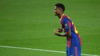 اهداف مباراة برشلونة وفرينكفاروزي 5-1 دوري ابطال اوروبا