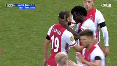 صورة اهداف مباراة اياكس وفينلو 13-0 الدوري الهولندي