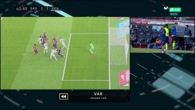 هدف راموس في مرمى برشلونة 2-1 تعليق حفيظ دراجي