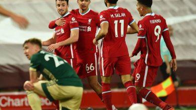 صورة اعتراف صريح من فابينيو بعد فوز ليفربول الشاق على شيفيلد يونايتد في الدوري الإنجليزي
