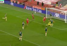 صورة اهداف مباراة ليفربول وشيفيلد يونايتد 2-1 الدوري الانجليزي