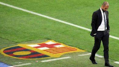 صورة هل يعود بيب جوارديولا لتولي تدريب برشلونة؟