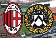 صورة موعد مباراة أودينيزي وميلان في الدوري الإيطالي والقنوات الناقلة