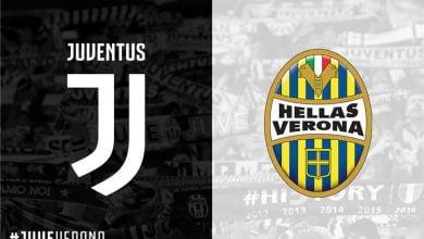 صورة موعد مباراة يوفنتوس وهيلاس فيرونا في الدوري الإيطالي والقنوات الناقلة