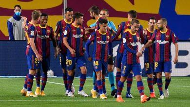 صورة التشكيل المتوقع لنادي برشلونة أمام فرينكفاروزي في دوري أبطال أوروبا