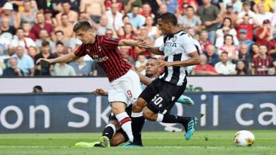 صورة تاريخ مواجهات أودينيزي وميلان في الدوري الإيطالي