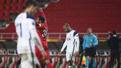 صورة اهداف مباراة توتنهام ورويال انتويرب 0-1 الدوري الاوروبي