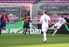 صورة هدف ريال مدريد الاول في مرمى برشلونة 1-0 تعليق حفيظ دراجي