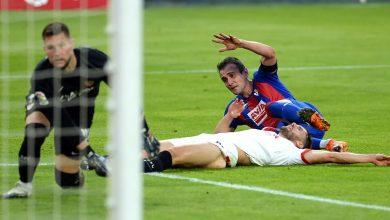 صورة اهداف مباراة اشبيلية وايبار 0-1 الدوري الاسباني