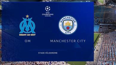 صورة موعد مباراة مارسيليا ومانشستر سيتي في دوري أبطال أوروبا والقنوات الناقلة