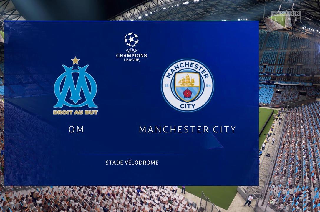موعد مباراة مارسيليا ومانشستر سيتي في دوري أبطال أوروبا والقنوات الناقلة - بالجول
