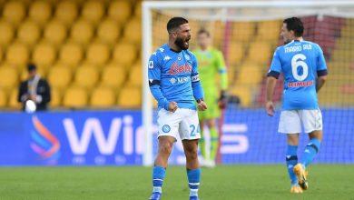 صورة اهداف مباراة نابولي وبينفينتو 2-1 الدوري الايطالي