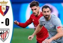 صورة اهداف مباراة اوساسونا واتليتك بلباو 1-0 الدوري الاسباني
