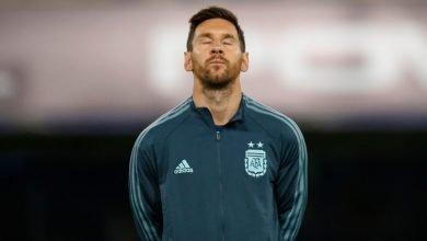 ليونيل ميسي مع منتخب الأرجنتين