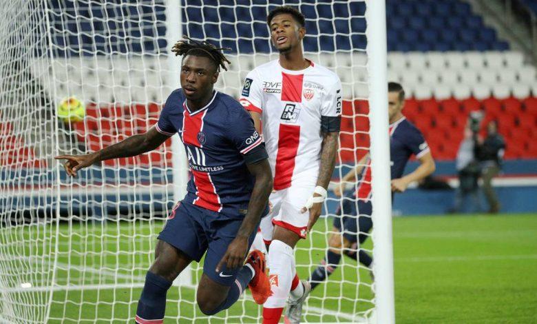 صورة اهداف مباراة باريس سان جيرمان وديجون 4-0 الدوري الفرنسي