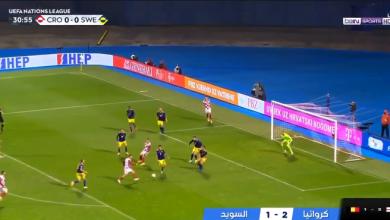 اهداف مباراة كرواتيا والسويد 2-1 دوري الامم الاوروبية
