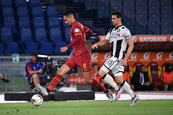 تاريخ مواجهات أودينيزي وروما في الدوري الإيطالي