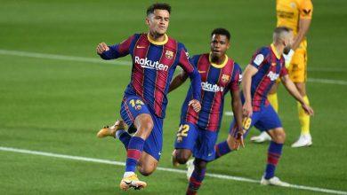 صورة المباريات التي يغيب فيها كوتينيو عن صفوف برشلونة