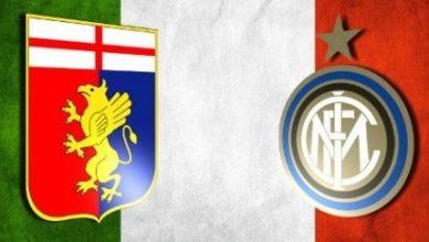 صورة موعد مباراة جنوى وإنتر ميلان في الدوري الإيطالي والقنوات الناقلة