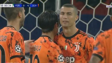 اهداف مباراة يوفنتوس وفرينكفاورس 4-1 دوري ابطال اوروبا