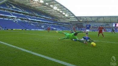 اهداف مباراة ليفربول وبرايتون 1-1 الدوري الانجليزي
