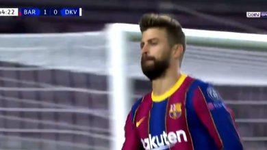 اهداف مباراة برشلونة ودينامو كييف 2-1 دوري ابطال اوروبا