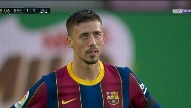 هدف ريال بيتيس في مرمى برشلونة 1-1 الدوري الاسباني