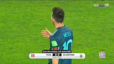 ملخص مباراة الارجنتين وبيرو في تصفيات كأس العالم