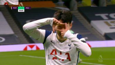 هدف سون في مرمى مانشستر سيتي 1-0 تعليق حفيظ دراجي