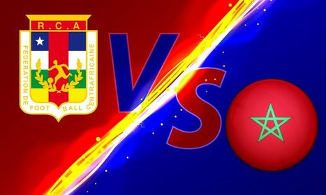 موعد مباراة جمهورية إفريقيا الوسطى والمغرب في تصفيات أمم إفريقيا والقنوات الناقلة - بالجول