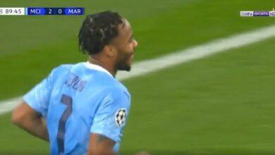 اهداف مباراة مانشستر سيتي ومارسيليا 3-0 دوري ابطال اوروبا