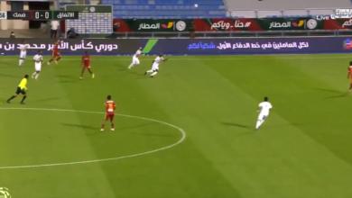 اهداف مباراة الاتفاق وضمك 4-2 الدوري السعودي