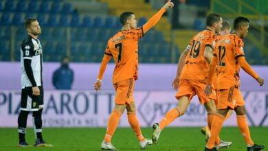 ملخص مباراة يوفنتوس وبارما في الدوري الايطالي