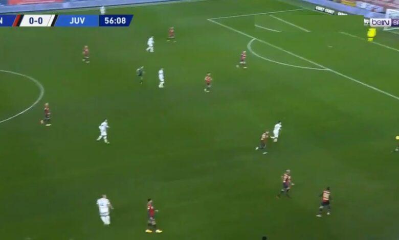 اهداف مباراة يوفنتوس وجنوى 3-1 الدوري الايطالي
