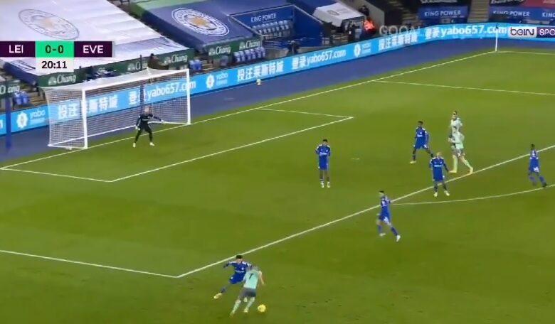 اهداف مباراة ايفرتون وليستر سيتي 2-0 الدوري الانجليزي